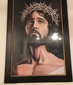 Very Large Jesus Picture Frame for Sale in Visalia,  CA