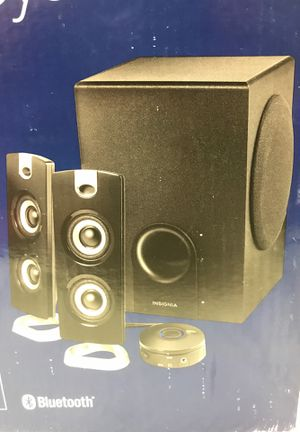 Insignia Bluetooth speakers with subwoofer for Sale in Lewis Center, OH