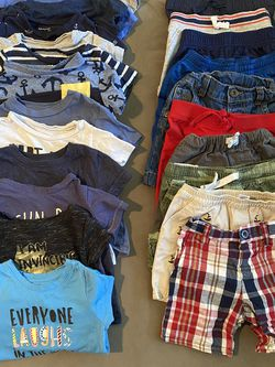 Boys Clothes And Accessories Size 18 Months, Snow Suit, Shirts, Pants, Shorts, Sweaters, Hoodies, Coat, Hat, Onesies, Costume 143 Pieces! for Sale in Alexandria,  VA