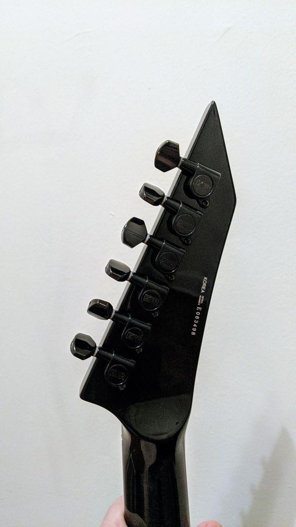 ESP LTD KH502 Kirk Hammet Metallica emg floyd case