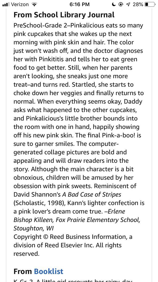 Pinkalicious Books