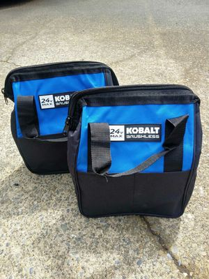TWO Small Kobalt Tool Bags for Sale in Tacoma, WA