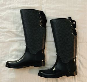 Coach Rain Boots for Sale in Arlington, VA