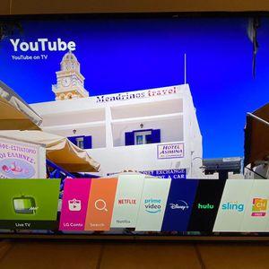 LG 50 Inch Smart 4K UHD TV for Sale in Arlington, TX