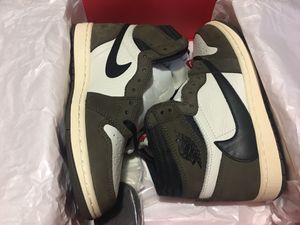 Travis Scott air Jordan 1 High Mocha ColorWay for Sale in Dallas, TX
