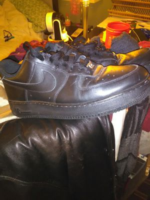 Black low top air force ones for Sale in Prattville, AL