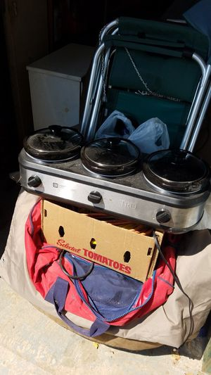 Three-piece Buffet Crock-Pot for Sale in PA, US