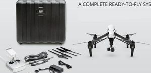 DJI Inspire 1, 4k, 3 batteries, extra propellers still seal in plastic, super fast. Hardly fly, my loss your gain. Asking $900 for Sale in Fresno, CA
