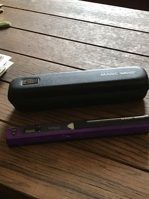 Portable scanner Magic wand VuPoint with case for Sale in Rensselaer, NY