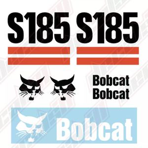 Bobcat S185 Skid Steer Set Vinyl Decal Sticker for Sale in Richmond, TX