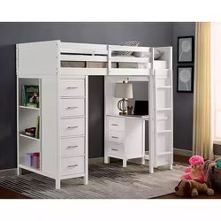 BRAND NEW TRANSITIONAL BUNKBED IN WHITE $1,499 for Sale in Portland,  OR