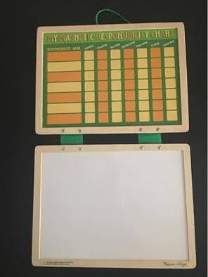 Melissa and Doug chore chart for Sale in Arlington, TX