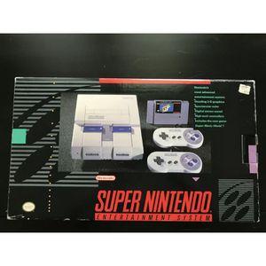 Super Nintendo Super Set CIB for Sale in Sacramento, CA