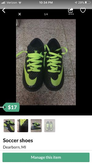 Soccer shoes for Sale in Dearborn, MI