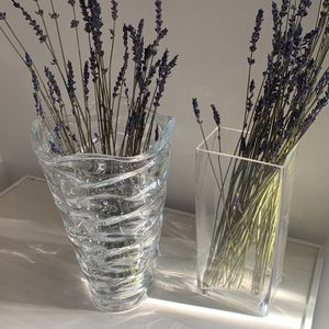 Clear Glass Flower Vases for Sale in Piedmont, CA