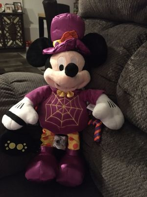Mickey Mouse purple spider Halloween plush 16 inches for Sale in Clearwater, FL