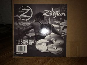 New Zildian Planet Z 4 Piece Cymbal Pack for Sale in Manor, TX