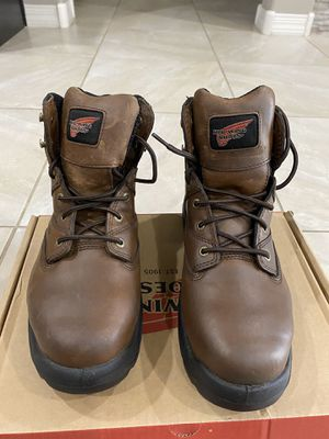 Steel toe work boots NEW size 8 for Sale in Surprise, AZ