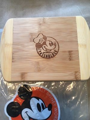 Disney cutting board for Sale in Fischer, TX