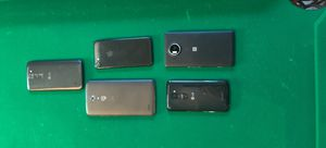 5 smartphones. All turn on but some have physical damages for Sale in Aurora, CO