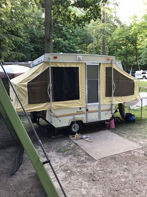 1987 Palomino Shetland pop up folding camper for Sale in Naperville, IL