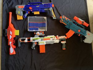****BUNDLE OF NERF GUNS - COMPLETE SET OF 14***** for Sale in Pembroke Pines, FL