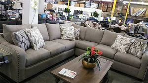 Vegas 2pc sectional sofa for Sale in Ontario, CA