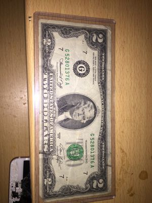 2 dollar bill series 1976 for Sale in Fort Washington, MD