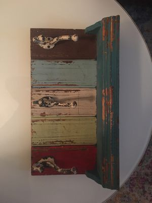 Distressed shelving / storage: $20 for Sale in Charleston, SC