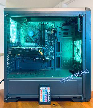 Custom Gaming Computer with Intel i5 9400F, 1060 GTX, 256GB NvME/1TB HDD for Sale in Sunrise, FL