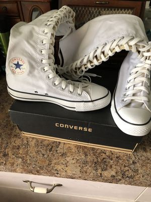 Converse knee highs size 9 for Sale in Kissimmee, FL