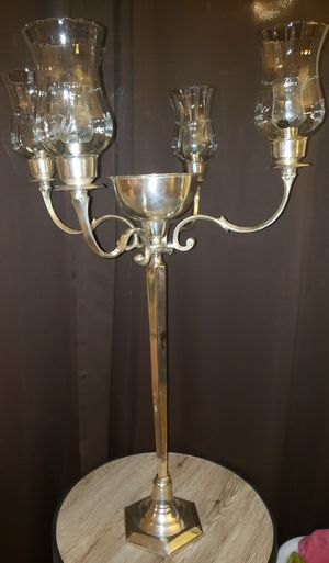 Silver Finish Candelabra - set for Sale in Peoria, AZ