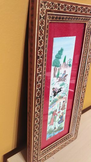 """Vintage persian wall art, 11 2/3"""" × 5 2/3"""". for Sale in Queens, NY"""