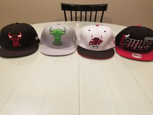 New Era Chicago Bulls caps for Sale in HILLTOP MALL, CA