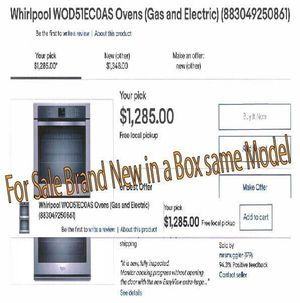 New Whirlpool Stainless Steel Double Oven for Sale in Fresno, CA