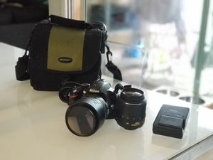 Nikon D3200 Bundle - Two Lenses and Camera Bag for Sale in Miami, FL