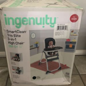 Brand New Ingenuity 3 In 1 High Chair for Sale in Yucaipa, CA