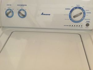 Washer and Dryer Electric $100 each or both $150 for Sale in Fort Washington, MD