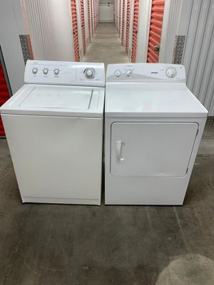 Whirlpool Dryer and Washer In Excellent Conditions 1 month of Guarantee for Sale in Salem, MA