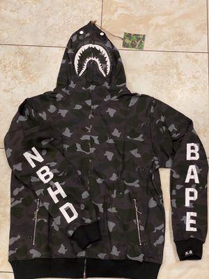 Black camo NBHD bape sweater S M L XL XXL for Sale in Los Angeles, CA