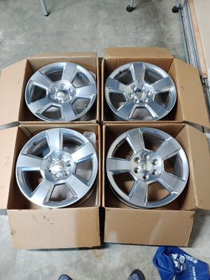 Chevrolet GM Factory 20x9 Wheels Rims for Sale in Maple Valley, WA