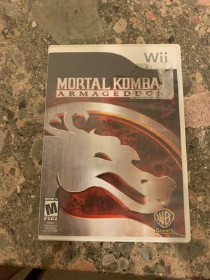 Mortal Kombat: Armageddon (Nintendo Wii, 2007) Complete Tested Free Shipping. E1 for Sale in Lewisville, TX