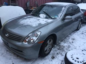 2003 Infiniti g35 for parts only for Sale in Newark, NJ