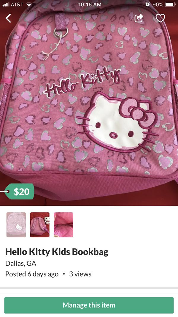 Hello Kitty Kids Bookbag