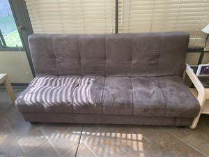 Free brown futon for Sale in Chino, CA