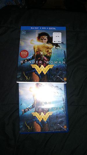 Wonder Woman Blu Ray for Sale in La Mirada, CA