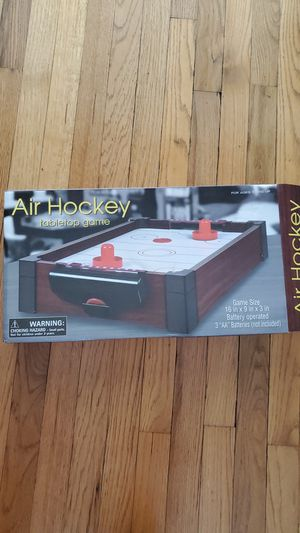Used Air Hockey tabletop game for Sale in Long Beach, CA