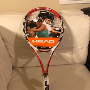 New! Head Microgel Midplus Radical Tennis Racket Size 4 3/8 for Sale in Humble, TX