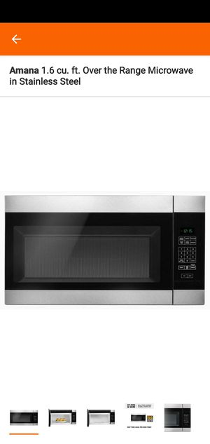 Over the Range Microwave for Sale in Winter Haven, FL