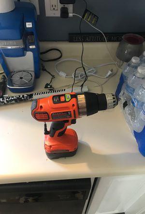 Drill black and decker 20$ for Sale in Battle Creek, MI
